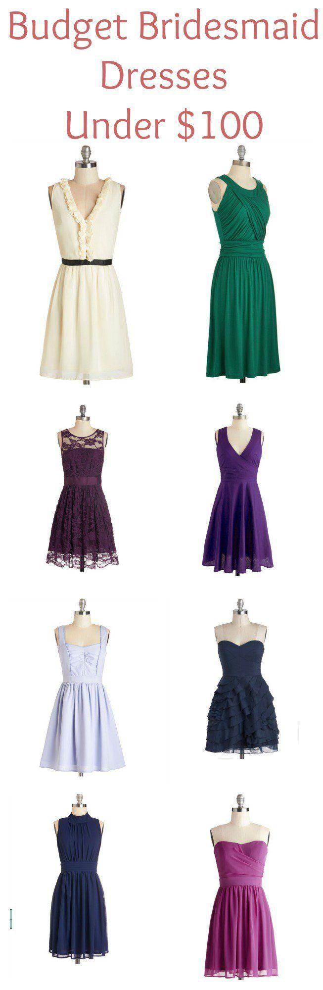 Best 25 bridesmaid dresses under 100 ideas on pinterest wedding bridesmaid dresses under 100 ombrellifo Choice Image