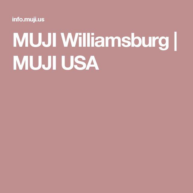 MUJI Williamsburg | MUJI USA