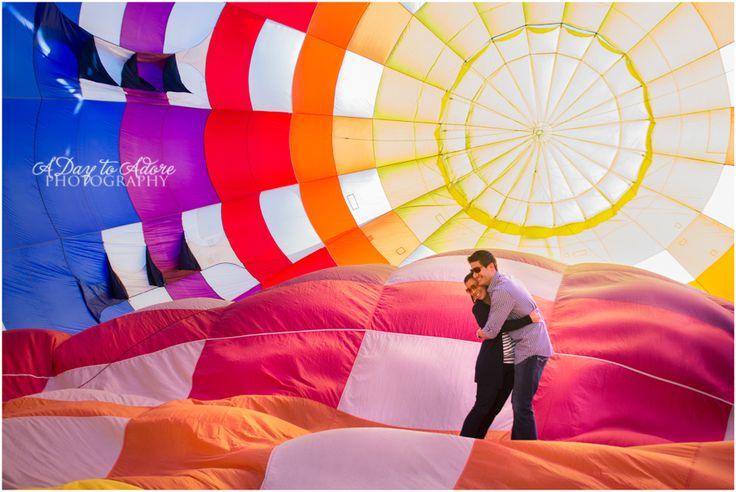 Amazing proposal idea! A Day to Adore   Austin & Alena's Hot Air Ballon Proposal {Kansas City Wedding Photography}