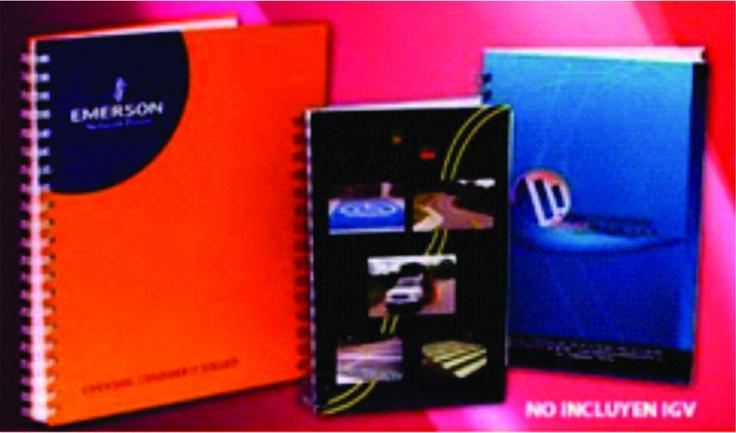Cuadernos corporativos impresion full color