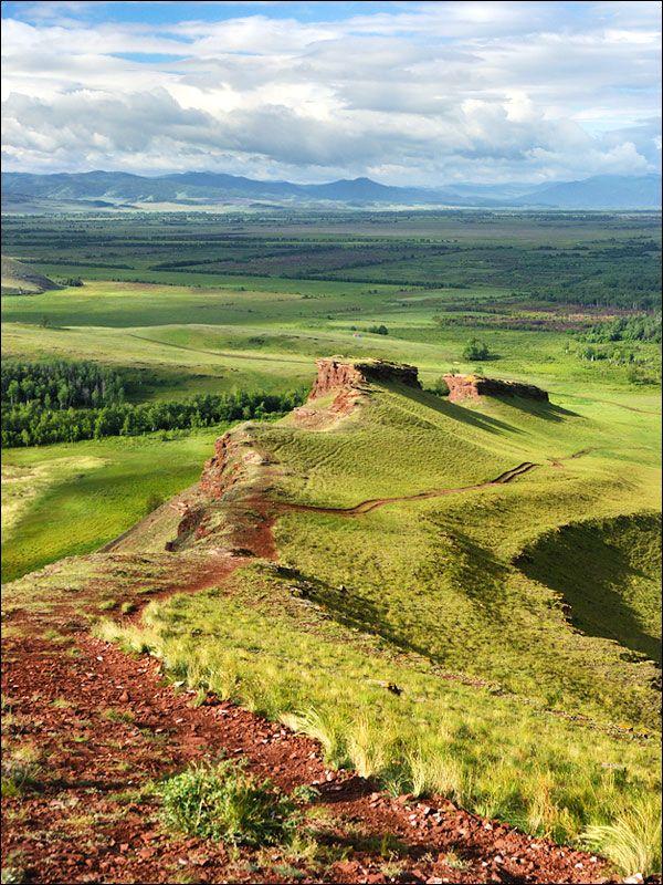 Khakassia republic landscape
