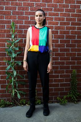 DJ Kim Ann Foxman took the House Of Vans stage by storm at House Party #