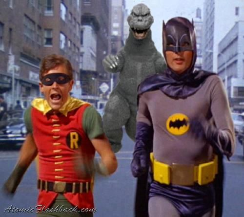 Holy anachronistic dinosaur Batman!