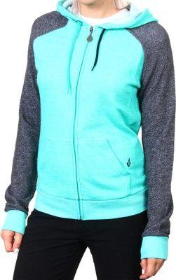 Volcom Moclov Zip Hoodie - vibrant purple - Women's > Women's Clothing > Women's Hoodies & Sweatshirts > Women's Hoodies