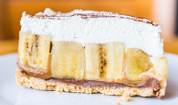 Γλυκό ψυγείου μπανόφι (banoffee pie)