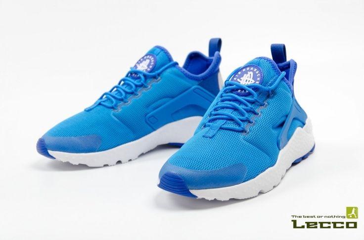 Женские кроссовки Nike Air Huarache Wmns Run Ultra Blue/White