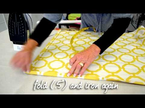 Video On How To Make A Tailored Valance Cre8tive Designs
