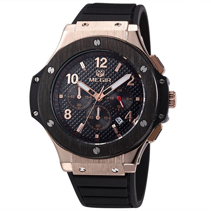 Megir Wrist Watch for men. For more visit: http://easyshoppingbd.com/product-category/watches/