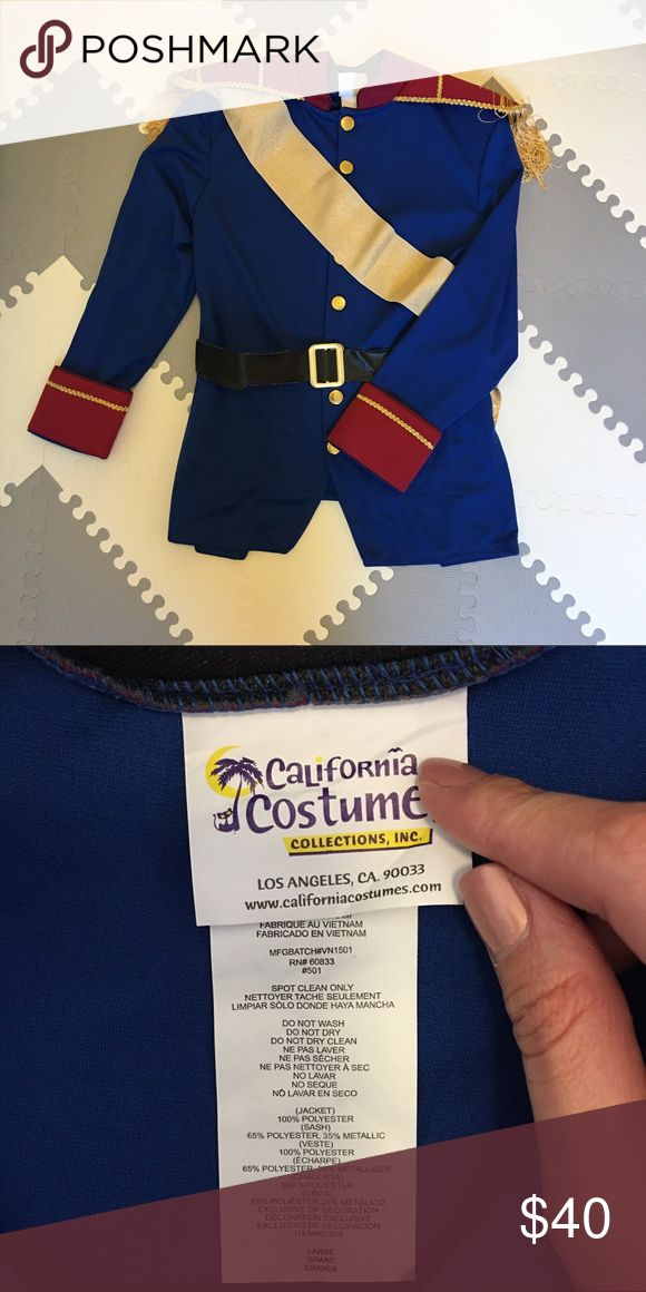 Prince Charming Adult Halloween Costume Prince Charming Costume with belt and sash. All you need to do is to wear a pair of black slack and dressy shoes and you will look like a prince. Worn once and in perfect condition. I also have Snow White and dwarf costume for sale also. Disney Jackets & Coats