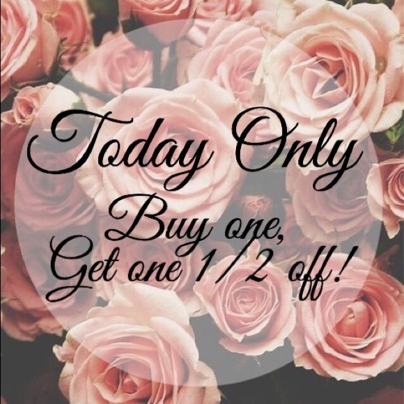 BOGO SALE! Today only! Buy one get one half off! Discount will be taken off lesser or equal value item. Hollister Other