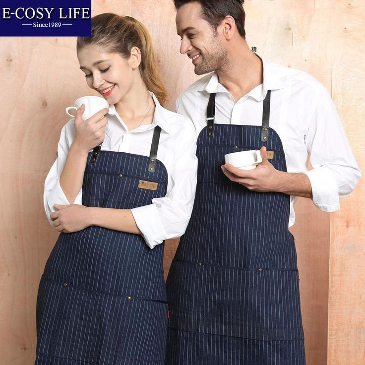 Find More Aprons Information about Waitress Chef Man Women Shop Kitchen Cooking Barbecue Jeans Denim Apron Sexy Cooking Kitchen Work Beauty Salon Apron For jeans,High Quality apron black,China apron waterproof Suppliers, Cheap apron disposable from E-COSYLIFE AESTHETIC HOME TEXTILE on Aliexpress.com