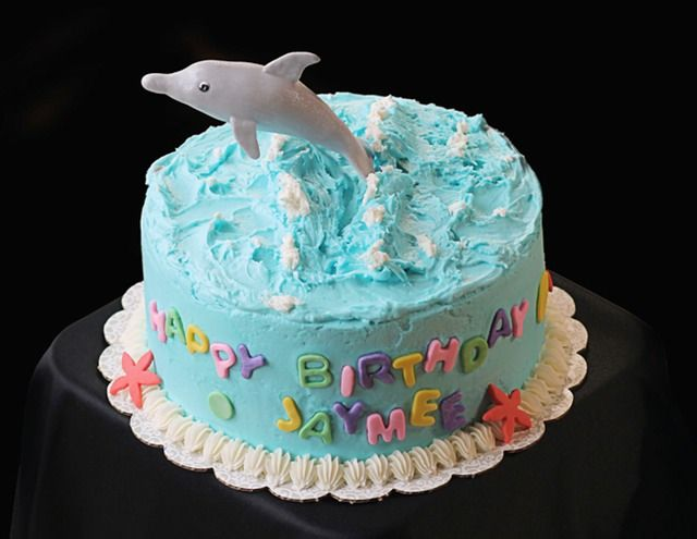 37 Best Birthday Cakes Images On Pinterest Dolphin Birthday Cakes