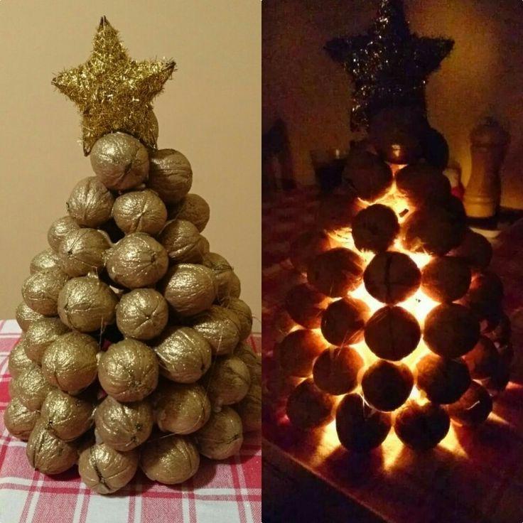 Karácsonyfa dióból 💚🎄