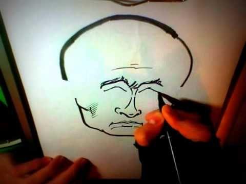 Drawing: VLADIMIR PUTIN CARICATURE! [3min]