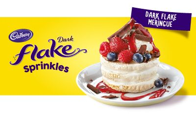#Cadbury Kitchen's Dark Flake #Sprinkles range brings more joy and variety to everyday desserts. Decorate your #dessert and mix it up your way! For more of our CADBURY Sprinkles range https://www.cadburykitchen.com.au/products/view/sprinkles/