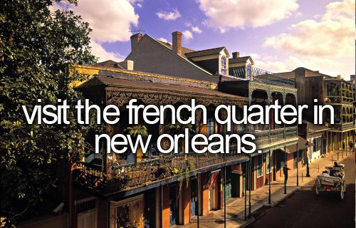 Check! But best part was staying in hotel in BOURBON STREET!! :)))