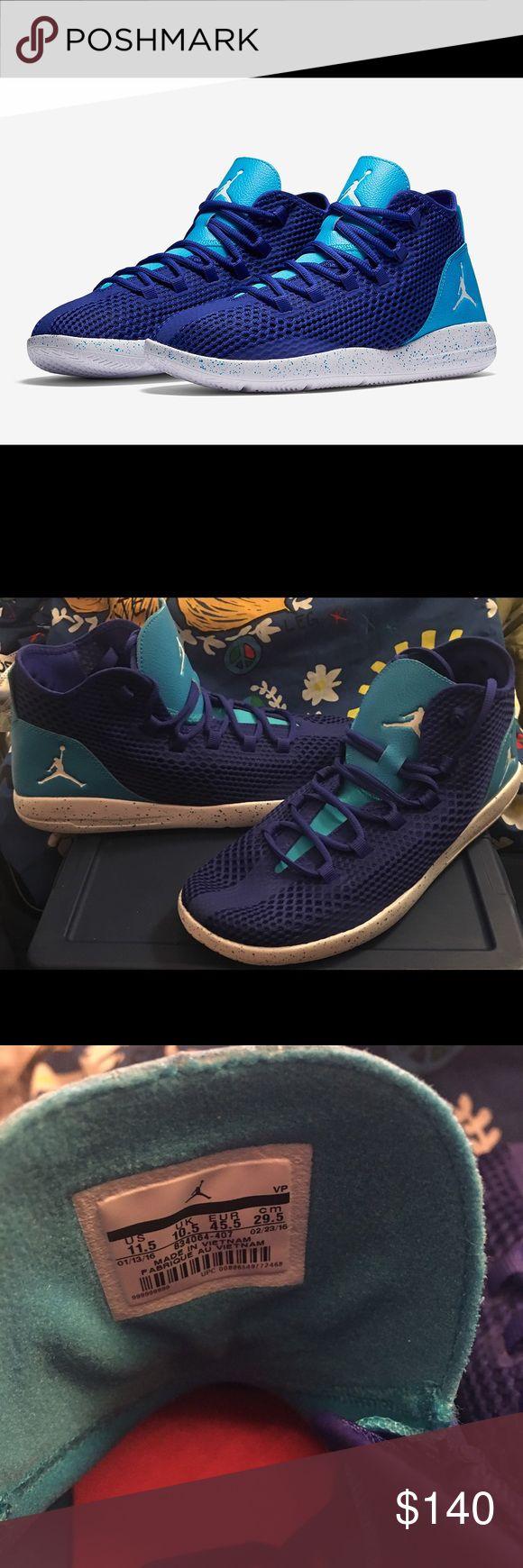 rare Jordan Reveal Hornets sz 11.5 Nike Air Jordan Reveal HORNETS sz 11.5 Concord Blue TURQUOISE 13 xiii low v. New NO BOX Nike Shoes