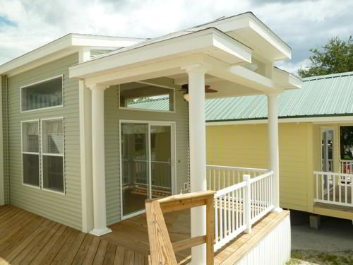 Pre built model homes