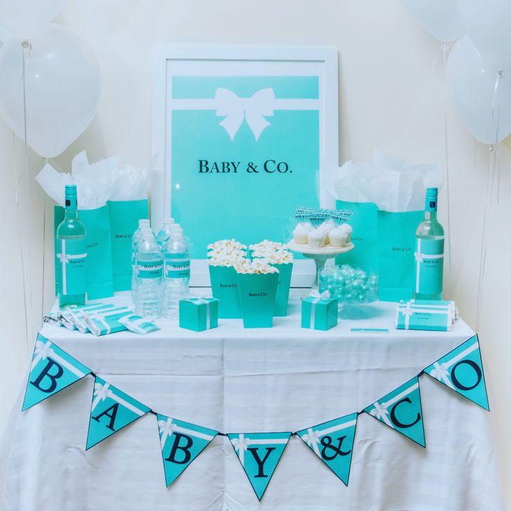 126 besten Tiffany Themed Bridal/ Baby Shower Bilder auf Pinterest ...