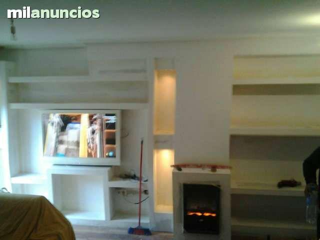 Muebles de pladur reforma mueble de pladur reforma - Molduras para paredes ...