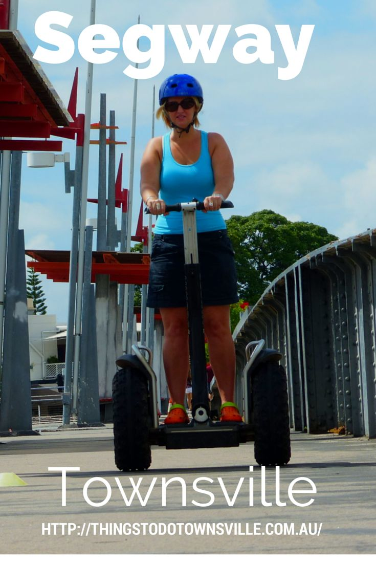 Why walk when you can glide Segway Townsville     Looking for a fun and unique way to explore Townsville? Why not go on one of our guided tours.  Segway Townsville is a Family owned and operated, they offer two exciting tours. http://thingstodotownsville.com.au/blog/
