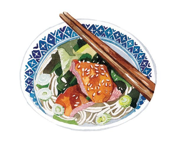 Food Illustrations for The Sun Newspaper | Watercolour Illustrations - Holly Exley Illustration