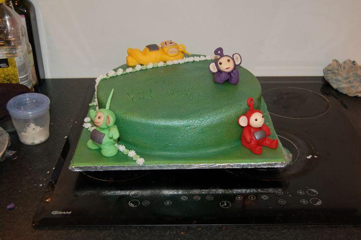 Teletubbies Birthsday Cake