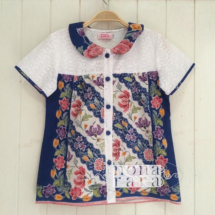 B210427 - IDR295.000 Bustline : 90cm Fabric: Batik Encim Pekalongan