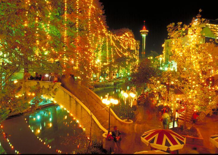 San Antonio Festival Of Lights Texas Pinterest