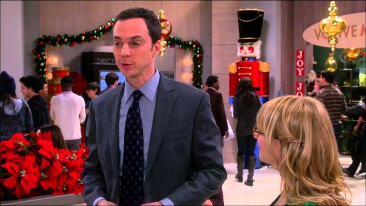 """The Big Bang-Sheldon's """"Romantic"""" Christmas Gift"""