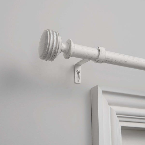 The Gray Barn Dreamweaver 1 Inch Curtain Rod And Finial Set In