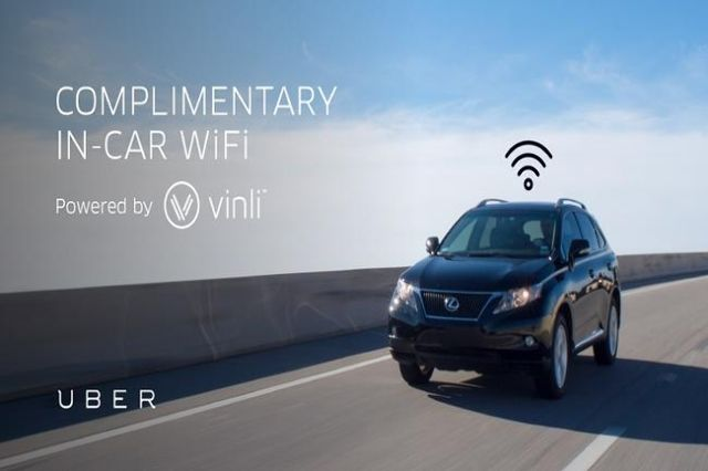 As upwards of 170,000 techies descend on Las Vegas this week for this year's Consumer Electronics Show, Uber is offering in-car Wi-Fi through the duration of the show.