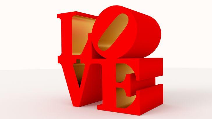 Blender 3D :: LOVE - 로버트 인디애나