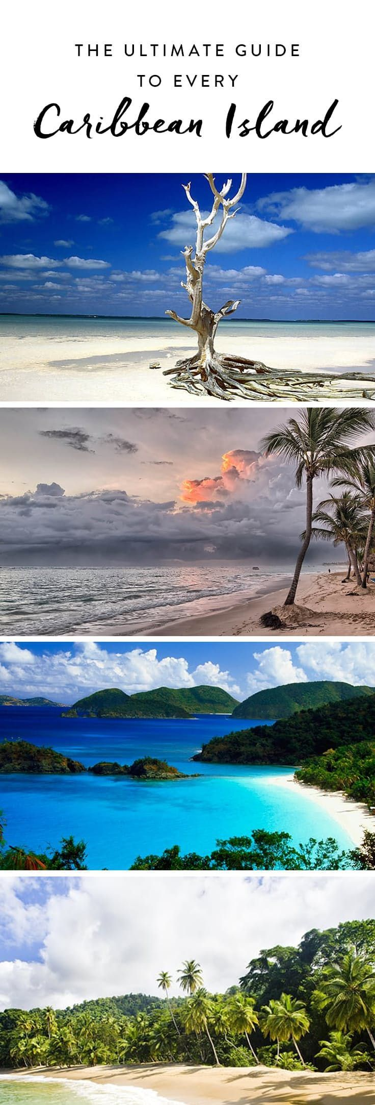 The Ultimate Guide to Every Caribbean Island via @PureWow