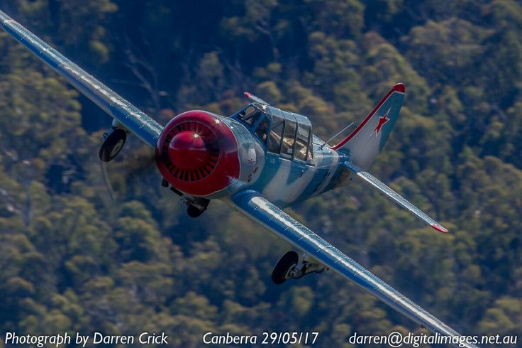 A Yak52 from Capital Warbirds flown by Ian Eccles in the #Canberra area. #aviation #avgeek #cbr #digitalimages #aero #aeroausmag #canon