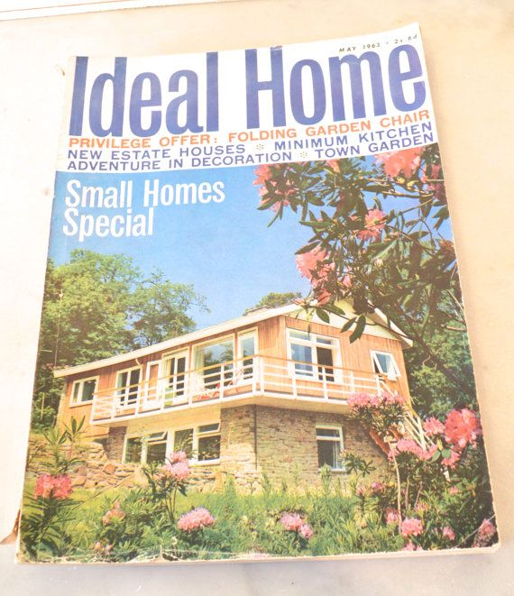 1963 may issue of ideal home magazine by tillyandarthur on Etsy