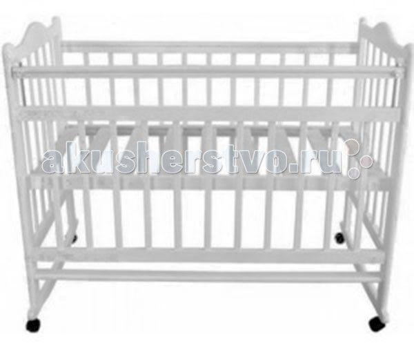 Детска кроватка Briciola - 1 качалка  Детска кроватка Briciola-1 качалка сделана из высококачественных и кологичных материалов, в ней применены самые современные и прогрессивные технологии.   Изделие обладает высоким качеством комфорта не только дл детей, но и также дл родителей.  Особенности: Размеры ложа: 120х60 см Кровать сделана из массива березы, в производстве также приментс исклчительно безопасные лаки и краски Четыре колесика легко сниматс, таким образом, кроватка превращаетс в…