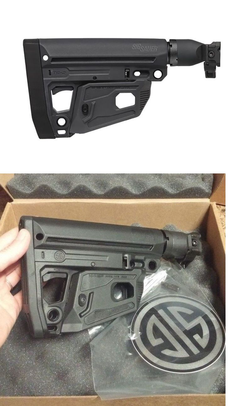Other Hunting Accessories 52509: Sig Sauer Factory Ergonomic Foldable Stock Black -> BUY IT NOW ONLY: $215 on eBay!