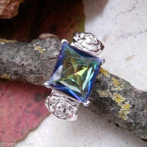Mystic Topas, Ring, Ø 18,0 - 18,25 - 18,5 mm, 925 Sterling Silber in Uhren & Schmuck, Modeschmuck, Ringe | eBay!
