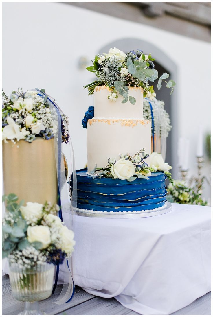 Wedding Theme 2017 / blue and gold
