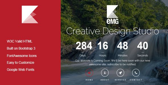 Emg Responsive Coming Soon Template. Full view: https://themeforest.net/item/emg-responsive-coming-soon-template/16794499?ref=thanhdesign