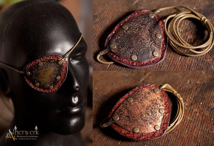 Steampunk EyePatch by Aetherwerk