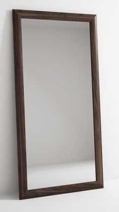 VINTAGE WALNUT FLOOR MIRROR 180x90