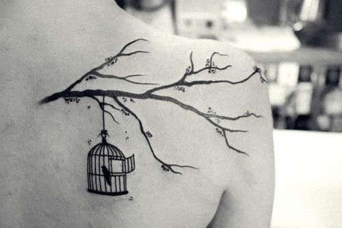 tattoo, tatuagem, ink, girl, woman: this is literally almost exactly like my dream tattoo!!!