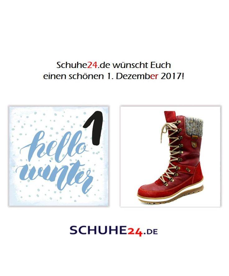 Schuhe24.de wünscht Euch einen schönen 1. Dezember 2017!  SCHUHE24.de  #new #neu #nouveau #nuovo #nuevo #shoes #Schuhe #chaussures #scarpe #zapatos  #shopping #einkaufen #achats #compras #fashion #mode #moda  #style #stil #stile #estilo #stiefel #advertising #werbung #publicité #pubblicità #publicidad #man #mann #homme #uomo #hombre  www.schuhe24.de/damen/stiefel-stiefeletten/ www.schuhe24.de/herren/stiefel-stiefeletten/ www.schuhe24.de/kinder/stiefel-stiefeletten/