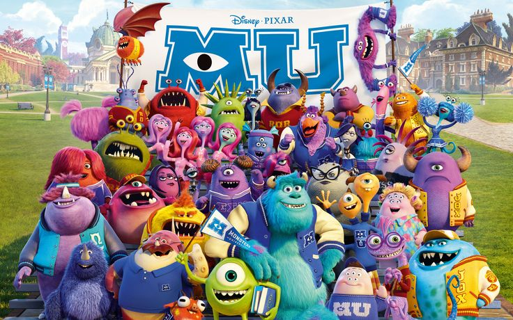 Monsters University Background 2013 http://windowsdesktopbackgrounds.com/24525/monsters-university-background-2013.html