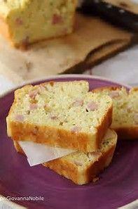 Cake con prosciutto cotto, robiola e maggiorana