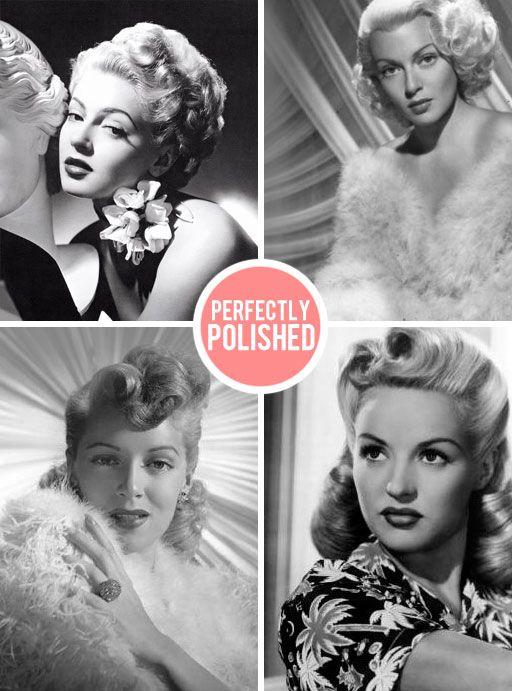 the perfectly polished Lana Turner.