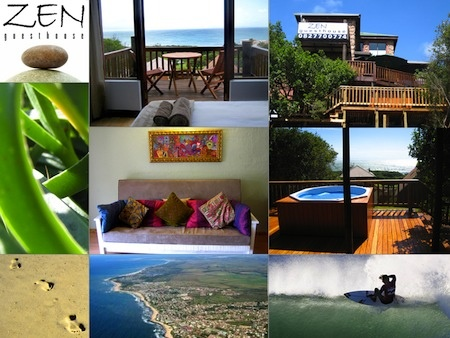 Zen Selfcatering Guesthouse Accommodation Jeffreys Bay South Africa