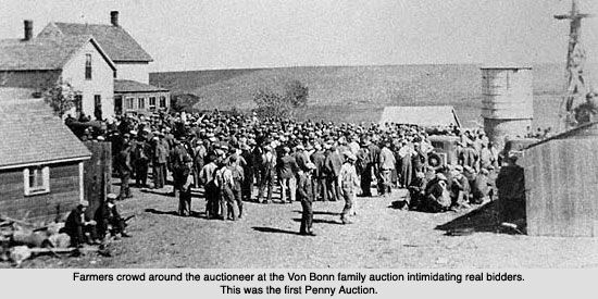 Farm auctions  Great Depression (Out of the Dust)